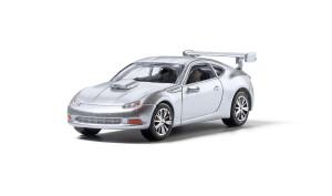 Woodland Scenics AS5368 Silver Sports Car  HO scale