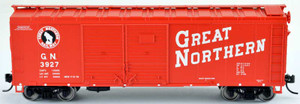 Bowser 42431 GN Great Northern 40' Steel Side Box Car #3869 RTR HO scale