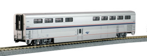 Kato HO 35-6073 Amtrak Superliner I Diner Phase VI #38021