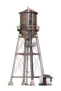 Woodland Scenics BR5064 Rustic Water Tower HO scale Built & Ready
