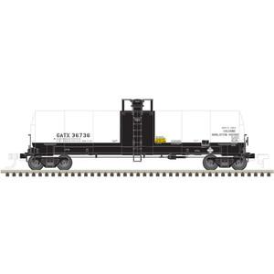Atlas HO 20005623 GATX 17,360 gal Chlorine Tank Car #36740 HO