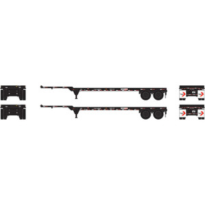 Athearn 14294 Flexi-van 40' Chassis 2 pack HO