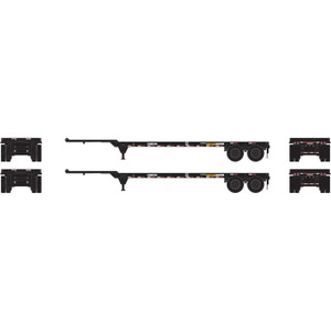 Athearn 14296 Mediterranean 40' Chassis 2 pack HO