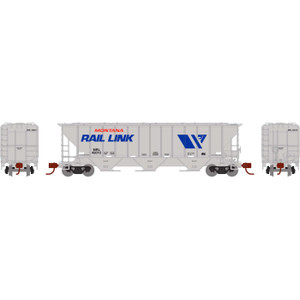 Athearn N 27423 Montana Rail Link PS 4427 Covered Hopper #45010 N scale