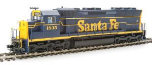 920-41067 WalthersProto Santa Fe SD45 #1835 DCC/Sound HO