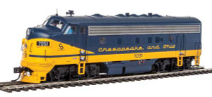 920-40915 WalthersProto C&O F7A #7051 DCC/Sound HO