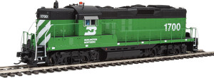 920-40874 WalthersProto BN Burlington Northern GP9 #1700 DCC/Sound HO