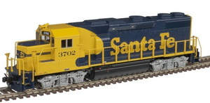 Atlas N 40004803 Santa Fe ATSF GP39-2 Phase 2 DCC Sound #3702