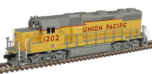 Atlas N 40004807 Union Pacific UP GP39-2 Phase 2 DCC Sound #1207