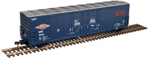 Atlas HO 20003428 Minneapolis Northfield & Southern Evans 53' Double Plug Door Box Car #50066