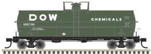 Atlas HO 20004672 Dow Chemicals 11K Tank Car #766