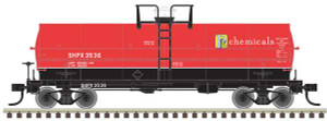 Atlas HO 20004677 PPG Chemicals 11K Tank Car #3536