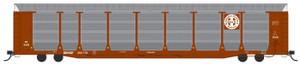 Intermountain 452100-01 BNSF Bi-level Auto Rack TTGX #300160 HO
