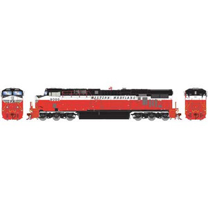 """Athearn Genesis 83064 WM Western Maryland ES44AC #9000 DC HO """"What-if Scheme"""""""