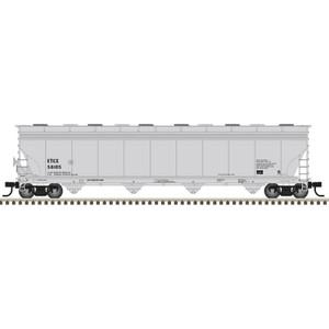 Atlas HO 20006024 Eastman Tennessee ACF 5800 Plastic Hopper ETCX #58105