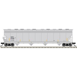 Atlas N scale 50005410 Wells Fargo Rail WFRX ACF 5800 Plastics Hopper #877585