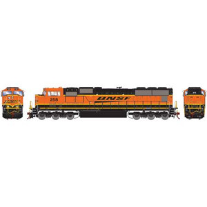Athearn Genesis 70648 BNSF Heritage Late SD75M #258 DCC & Sound HO