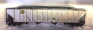 Trainworx 2418-55 Alaska RR 100T Quad Hopper #16232 N scale
