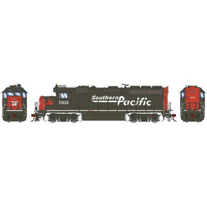 Athearn Genesis 65052 SP Southern Pacific GP40-2 #7615 DC HO