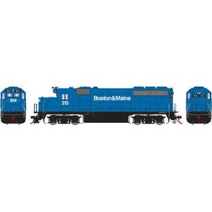 Athearn Genesis 65062 B&M Boston & Maine GP40-2 #313 DC HO