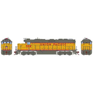 Athearn Genesis 65149 UP, Union Pacific GP40-2 #908 DCC Sound HO