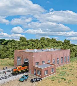 Walthers Cornerstone 933-3266 2-stall Brick Diesel House  N scale