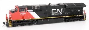 Intermountain 497102s-12 CN Canadian National ET44AC #3088 DCC & Sound HO