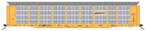 Intermountain 452107-03 BNSF Bi-level Auto Rack TTGX #603026 HO