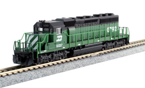KATO N scale 176-4960 BN SD40-2 Road #6792