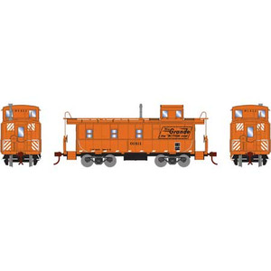 Roundhouse 74292 D&RGW Cupola Caboose #01411 HO