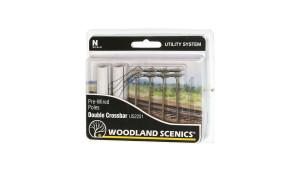 Woodland Scenics US2251 Double Crossbar Pole N scale