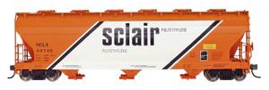 Intermountain 47020-22 Sclair 4650 cf 3-bay Hopper #46548 HO
