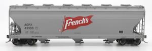 Intermountain 47085-06 French's 4650 cf 3-bay Hopper #47107 HO