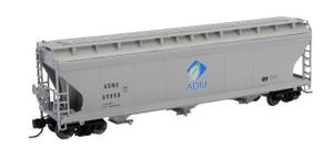 Intermountain 67080-02 ADM ACF 4650 CF 3-bay Hopper #65027 N scale