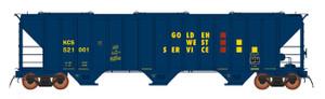 Intermountain 472291-02 Golden West Service/GVSR 4785 CF Hopper #521004  HO