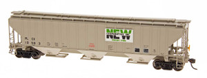 Intermountain N Scale 65289-03 New Cooperative #19531 4750 3-bay Covered Hopper