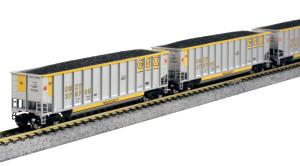 KATO N scale 106-4627 CSX Bethgon Coalporter 8-car set