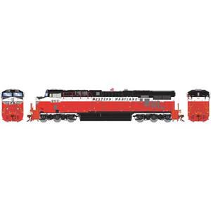 """Athearn Genesis 83065 WM Western Maryland ES44AC #9011 DC HO """"What-if Scheme"""""""
