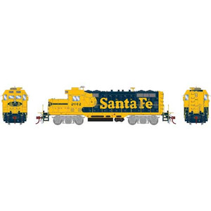 Athearn Genesis 78138 ATSF Santa Fe GP7U #2012 DC HO