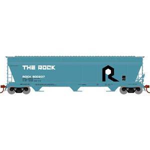 Athearn 12921 RI Rock Island 4600 cf 3-Bay Centerflow Hopper #800207 N