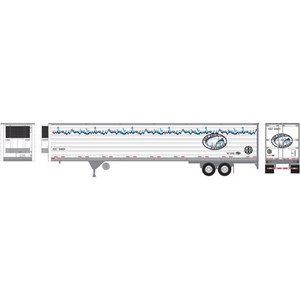 Athearn RTR 17972 BNSF Ice Cold Express 53' Reefer Trailer HO