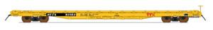 Intermountain 46423-06 TTX New Logo 60' Wood Deck Flat Car  #93805  HO