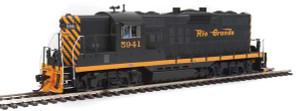 920-42704 Walthers Proto D&RGW Rio Grande GP9 Phase II DCCS #5941 HO