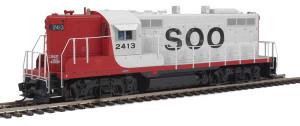 920-42710 Walthers Proto SOO GP9 Phase II DCCS #2413 HO