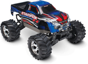 Traxxas 67054-1 Stampede 4WD Blue 1/10 Scale w/battery/charger