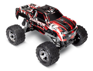 Traxxas 36054-4 Stampede 2WD Red 1/10 Scale