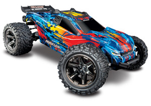 Traxxas 67076-4 Rustler 4WD VXL Brushless Red 1/10 Scale