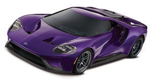 Traxxas 83056-4 Ford GT Special Edition Purple 1/10 Scale