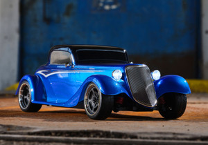 Traxxas 93044-4 1933 Hot Rod Coupe Blue 1/10 Scale Brushed