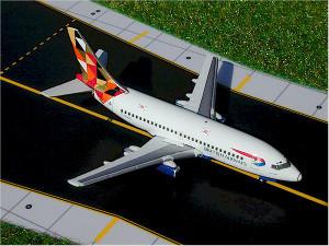 """Gemini Jets GJBAWSET1 British Airways 737-200 GJBAW248 """"Bowhaus"""" G-BGDE & GJBAW247 """"Botswana"""" GBGDT"""